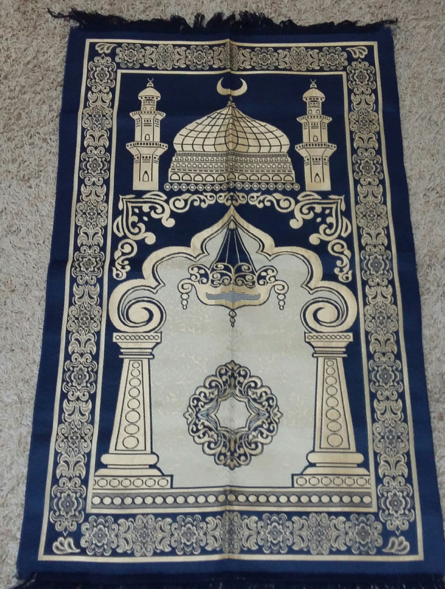 tapis de pri re fin acc pri 00007 zamanshop le site pour vos achats islamiques. Black Bedroom Furniture Sets. Home Design Ideas